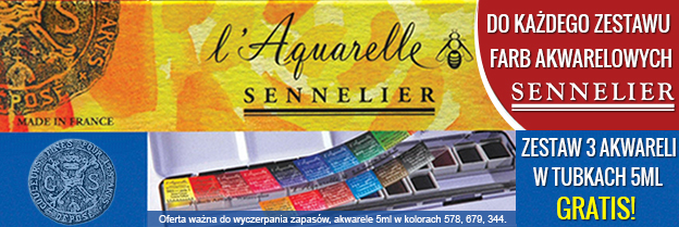 Sennelier set+3x5ml