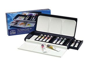 Winsor&Newton cotman studio set zestaw akwareli 12x8ml