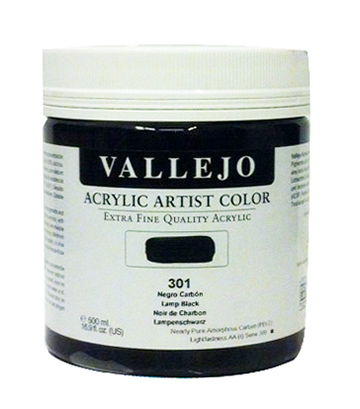 Vallejo acrylic artist color farby akrylowe 500ml
