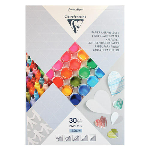 Blok Clairefontaine paper touch 160g 30ark A4