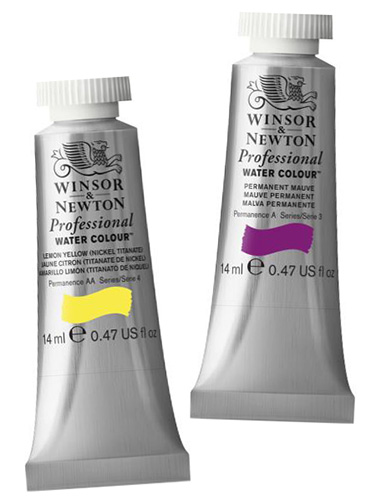 Winsor&Newton akwarele watercolor professional - tubka 14ml