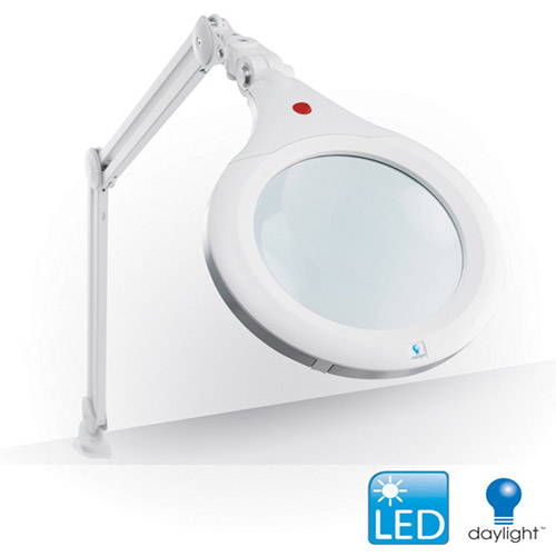 Daylight lampa led z lupą xr ultra slim biała