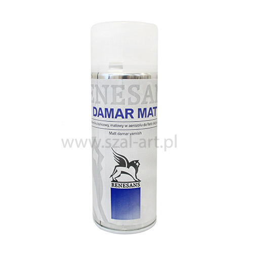 Renesans werniks damarowy matowy spray - 400ml