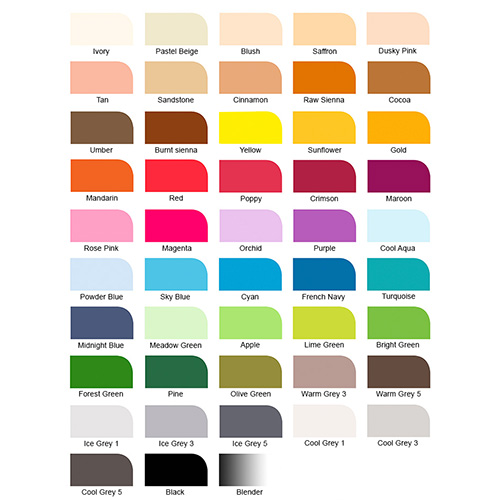 Winsor&Newton promarker essential collection set 48 colors