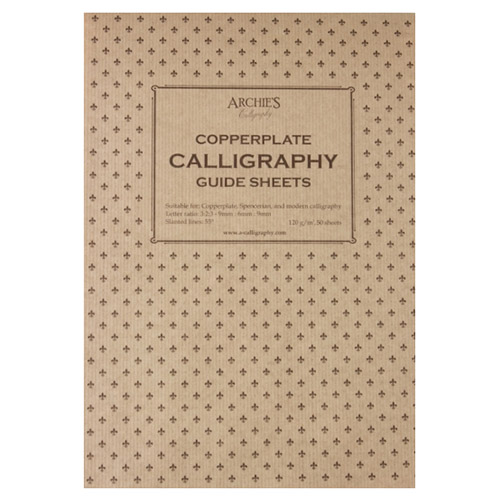 Blok Archie's calligraphy copperplate 9-6-9 120g 50ark