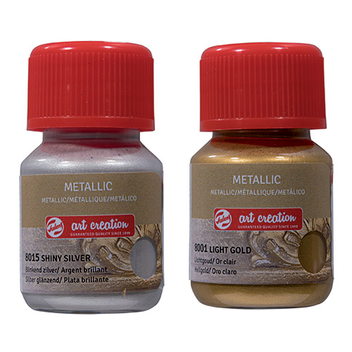 Talens art creation metallic farby metaliczne 30ml