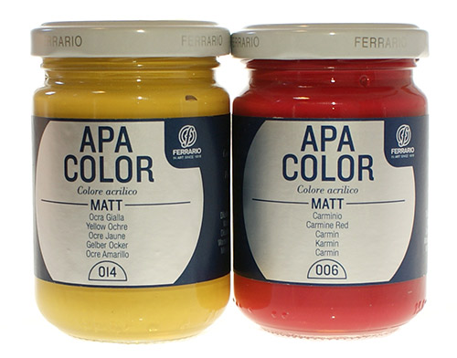 Apa Color Ferrario Acrylic Paint 150 ml