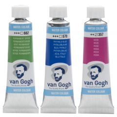 Talens van gogh watercolors 10ml