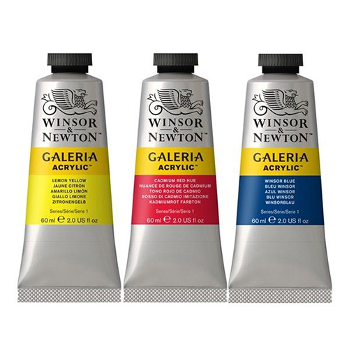 Paints acrylic Galeria Winsor&Newton in tubes 60 ml