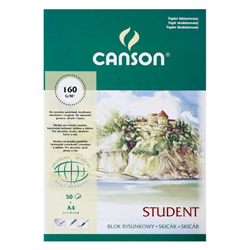 Blok Canson student rysunkowy 150-160g