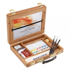 Zestaw Artists Water Colour kostki Bamboo Set + akcesoria