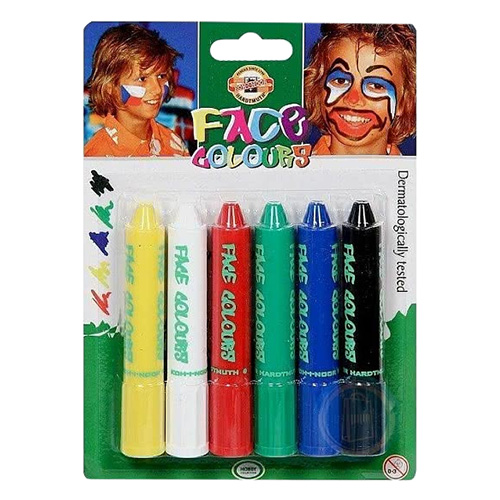 Face crayons Koh-i-noor 6 colours
