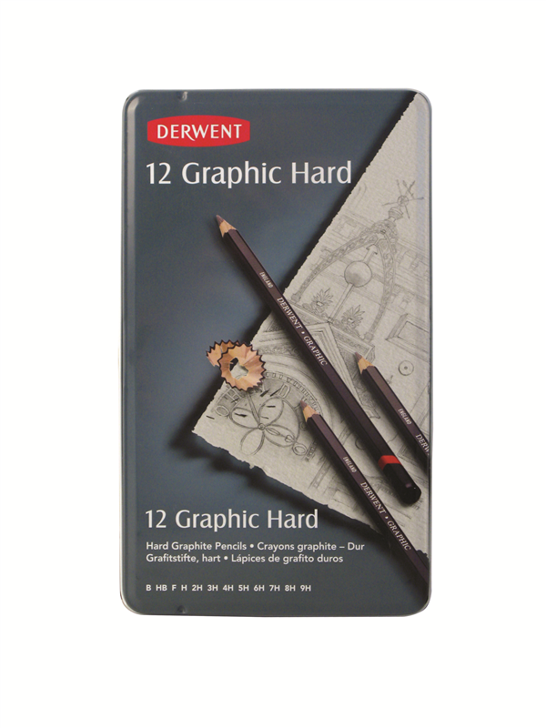 Pencil for sketching Derwent Technical - 12 hardness