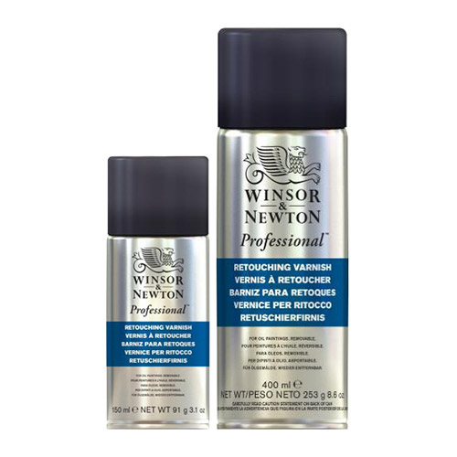 Winsor&Newton werniks retuszerski w spray'u