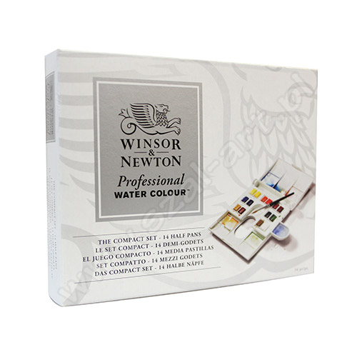 Set of watercolor company Winsor & Newton - 14 colors