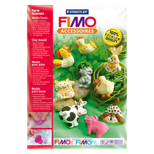 Staedtler Fimo Clay Mould Farm animals