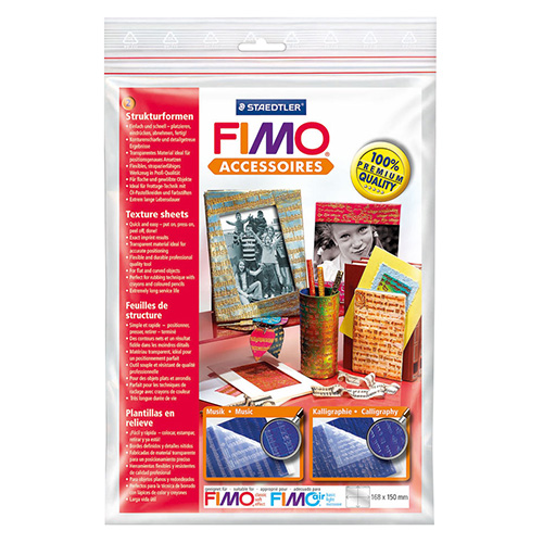 Set of 2 structural templates FIMO 04