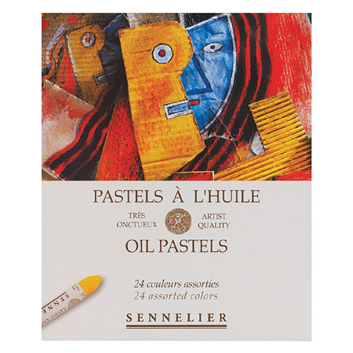 Sennelier oil pastels - universal set of 24 colors