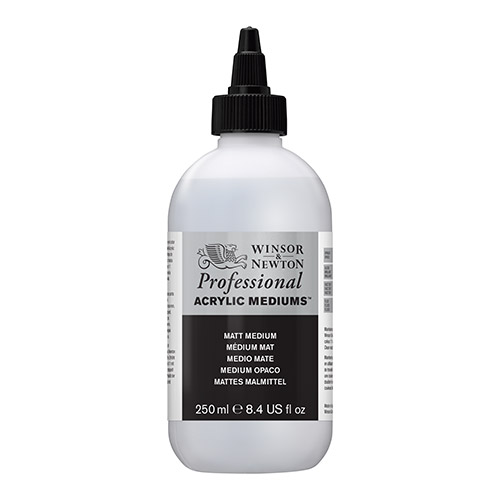 Winsor&Newton artists akryl medium akrylowe matowe 250ml