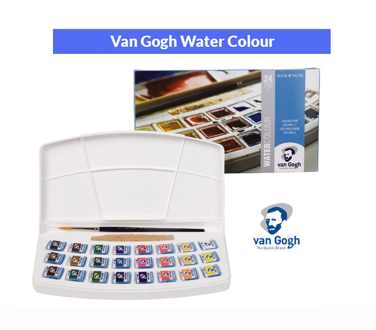Van Gogh water colour plastic set 20HP8624