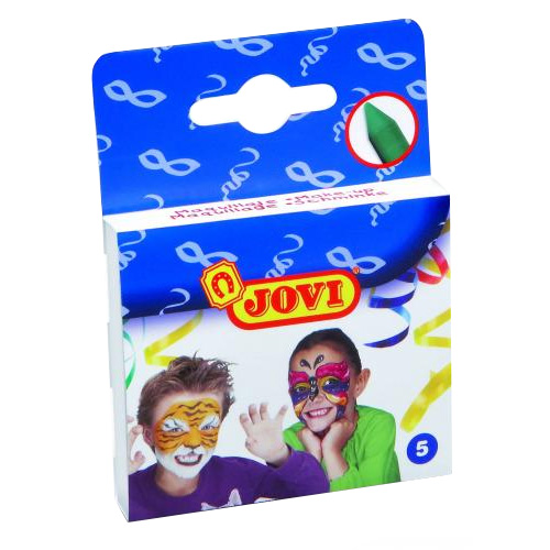 Jovi face and body crayons vibrant colours
