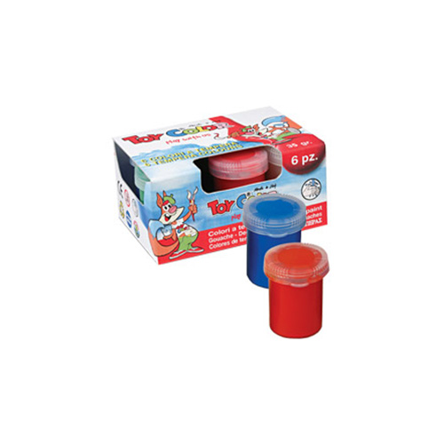 Set of 6 temper Toy Color in jars