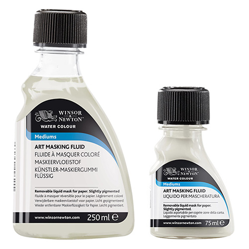 Winsor&Newton medium do akwareli płyn maskujący 75 ml
