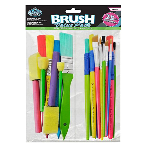 Set of 25 mixed brushes Value Pack R & L