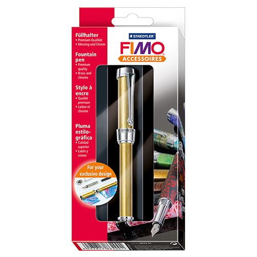 Pen for decorating with Fimo modeline