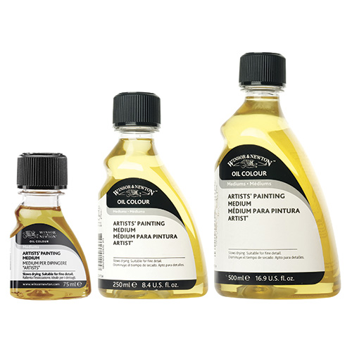 Winsor&Newton medium malarskie olejne
