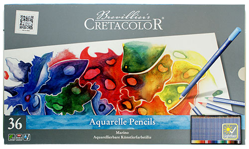 Cretacolor marino set of 36 watercolor pencils