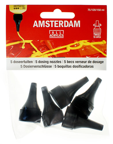 Dispensers for acrylics Amsterdam 5pcs.