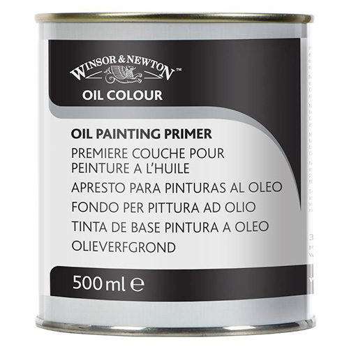 Winsor&Newton oil painting primer