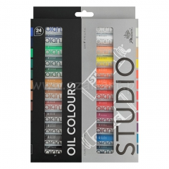 Phoenix oil paints set - 24 colors