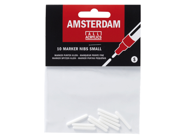 Amsterdam 10 markers nibs small