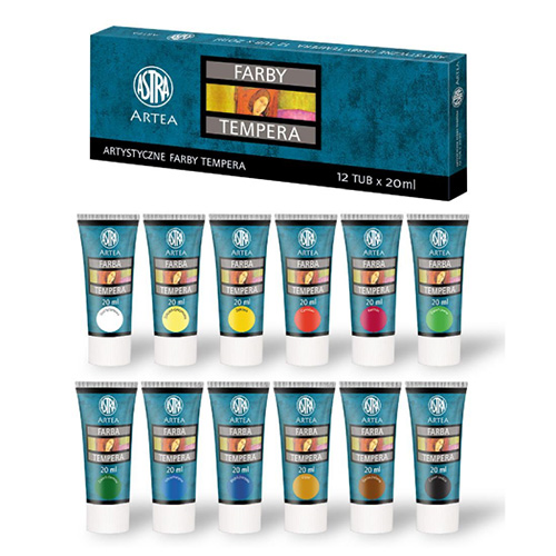 Temper Set Astra 12x20ml