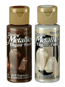 Metallic acrylic paint Dazzlig Metallics DecoArt 59ml
