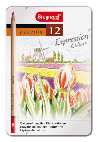 Bruynzeel expression color set of 12 colored pencils
