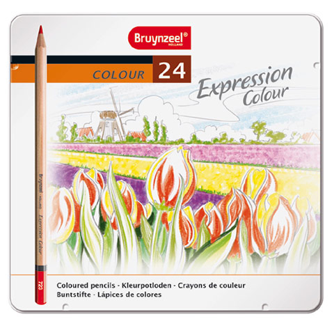 Bruynzeel expression color a set of 24 colored pencils