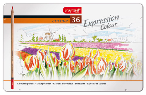 Bruynzeel expression color set of 36 colored pencils