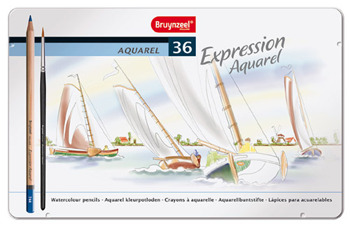 Bruynzeel expression aquarel a set of 36 watercolor pencils