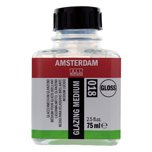Talens amsterdam medium błyszczące do laserunku 018 75ml