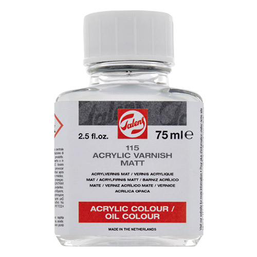 Talens Matte Varnish for oil and acrylic 115 Talens 75ml
