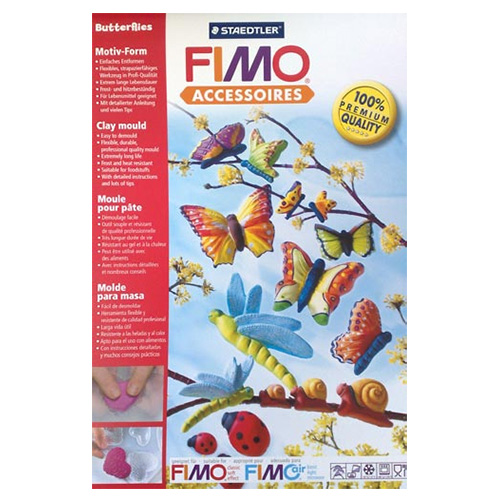 Staedtler Fimo Clay Mould Butterflies