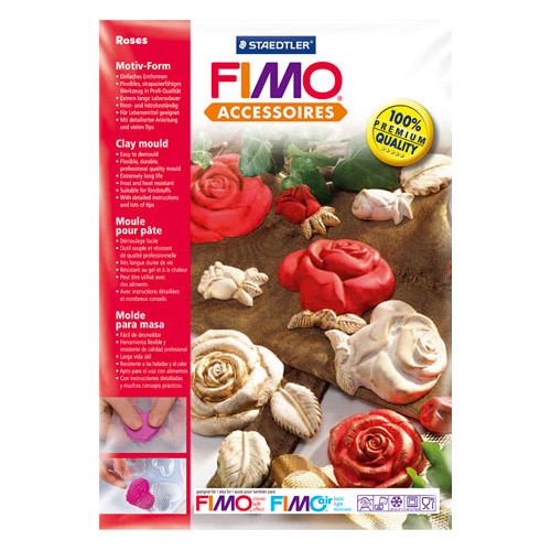 FIMO form - roses