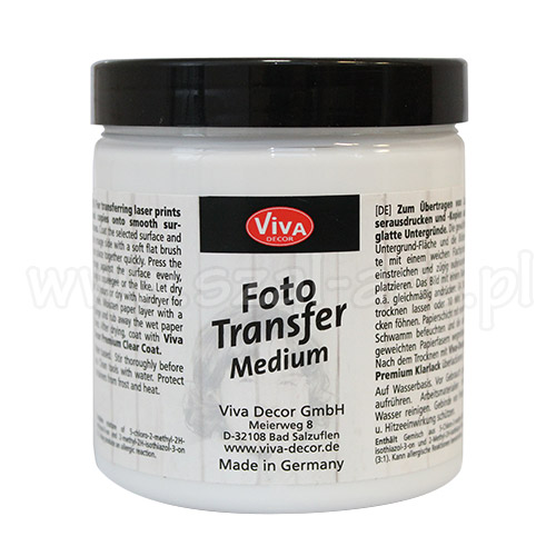 Viva medium foto transfer 250ml