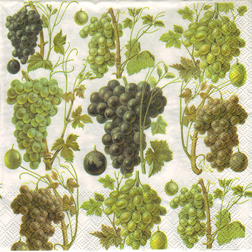 Serwetka do decoupage 3-IHR L607800 grape harvest
