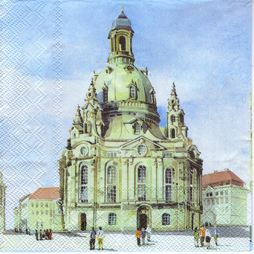 Serwetka do decoupage 3-IHR L452000 Dresden