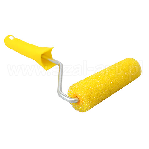 Paint roller on the handle - structure