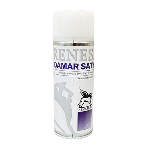 Renesans varnish in spray dammar satin - finish  400 ml